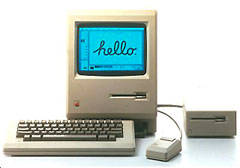 The first Mac, the Macintosh 128K