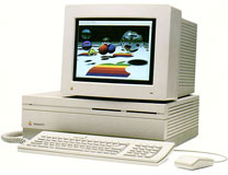 Macintosh II with color display