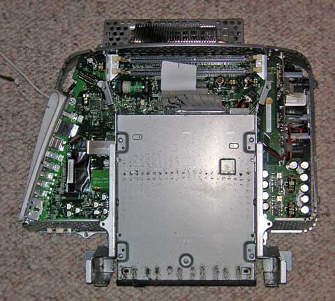 optical drive and logic board