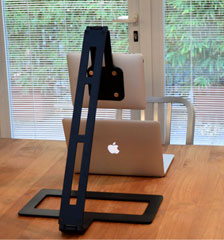 The ARM iPad stand