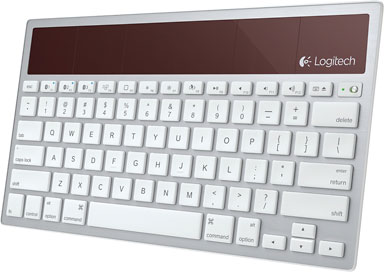 Logitech K760 with traditional Mac layout